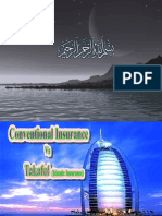 conventional insurance vs takaful (islamic insurance)