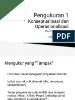 DPK Pengukuran 1 (2018)