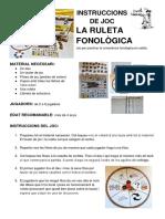 Instruccions de La Ruleta Fonològica _ 6è