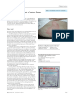 ABC of Burns First Aid and Treatment of Minor Burns
