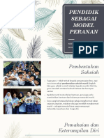 Pendidik Sebagai Model Peranan