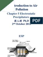 Chapter 5. Electrostatic Precipitators