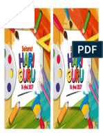 Sticker Hari Guru