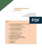 UNIDAD 1 El Proceso de Investigación Empírico Experimental