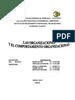 trabajo maestria de ORGANIZACIONES Y COMPORTAMIENTO ORGANIZACIONAL.doc