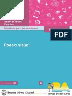 PNES - Artes - Poesia Visual - Actividades - Def