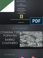 Analisis Parque Barrio Chapinero