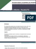 Slide Sinalização Urbana Palmas