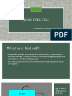 HOME FUEL CELL