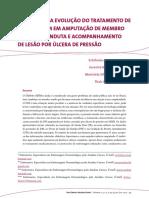 Avaliação Da Evolução Do Tratamento de Enfermagem Em Amputação de Membro Inferior Conduta e Acompanhamento de Lesão Por Úlcera de Pressão v 5 n 5