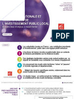 Investissement Public Local BPCE 2018