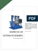 Diseño de Un Sistema de Bombeo