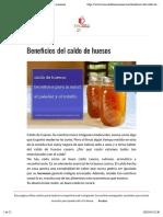 Beneficios Del Caldo de Huesos - Eva Muerde La Manzana