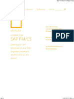 SAP PM_CS - Movilizer