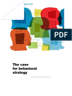 Lovallo and Sibony 2010 - Case for Behavioral Strategy