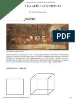 Perspectiva (Desenho) – História Da Arte e Arquitetura