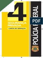 Segurança Privada - Carta de serviços