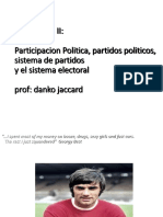 Introducción Al Sistema Electoral - Participación Política, Partidos Políticos y Sistema de Partidos