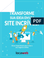 eBook Transforme Sua Ideia Site Incrivel