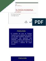 1. Fisiología de La Membrana Celular 2018