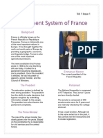 government system of france
