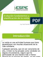 Evolucion y Fundamentos y Planificacion de La Venta