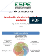 Gestion de Productos