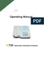 KD720 New Operating Manual