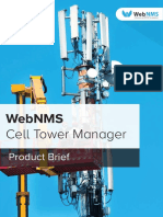 Cell Tower Monitoring Product Brief