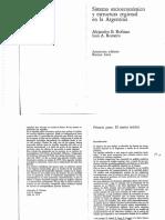 Rofman y Romero - Sistema socioeconómico y estructura regional en la Argentina.pdf