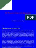El Proceso Único de Ejecución (PPC II)