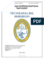 Tarea Tema 1 Tecnologia Del Hormigon