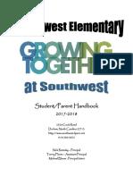 student-parent handbook swe 2017-18
