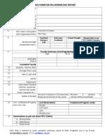 2. Interim Visit Summary Format