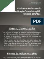 Slides Os Direitos Fundamentais Na Cf Limites e Garantias