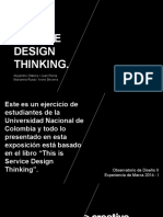 Exposicion This is Service Design Thinking