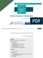 Final Information Bulletin - 28 March