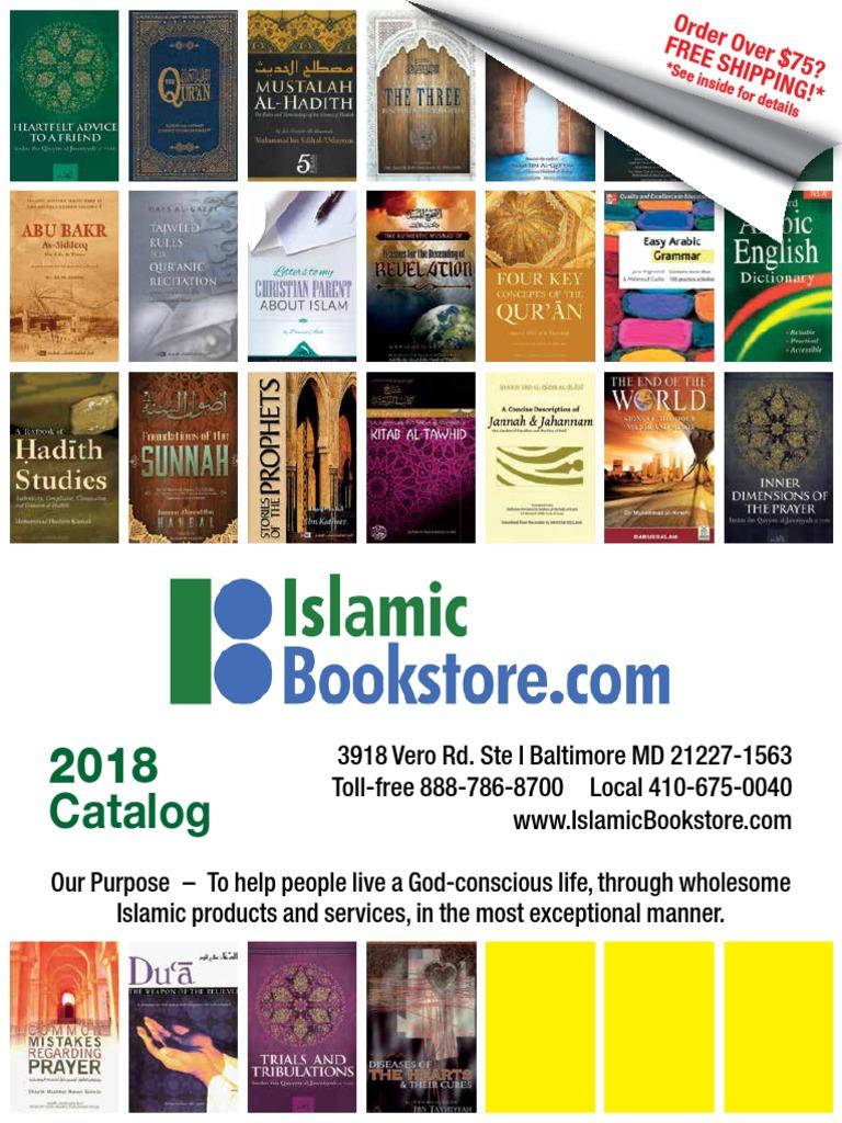 IslamicBookstore catalog 2018 v4 (1) pdf | Quran | Hadith
