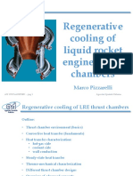 Regenerative Cooling of Liquid Rocket Engine Thrust Chambers