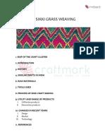 P026 Sikki Grass Weaving