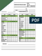 Formato de Check List Vehiculos