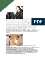 Tipos de Conflictos Organizacionales
