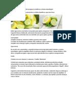 Beber água morna com limão emagrece e melhora o sistema imunológico.docx