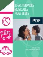 20 Actividades Musicales Para Bebes Final
