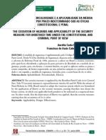A CESSAÇÃO DA PERICULOSIDADE....pdf
