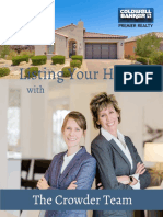 Listing Your Home with The Crowder Team