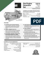 Datasheet G3516 1200 Rpm