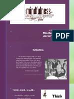 topic presentation- mindful inquiry