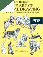 Hultgren Ken - The Art of Animal Drawing