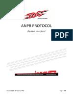 Hi-trac Anpr Protocol Jan 2013